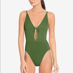 Robin Piccone Lily Plunge One-Piece